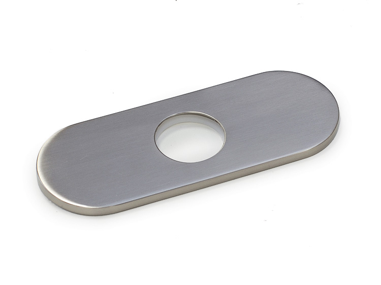 deck plate for kitchen faucet bathroom faucet deck plate brushed nickel performance 23449